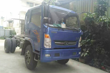 中国重汽 豪曼H3 160马力 4X2 4.5米自卸车底盘(ZZ3068F17DB0)