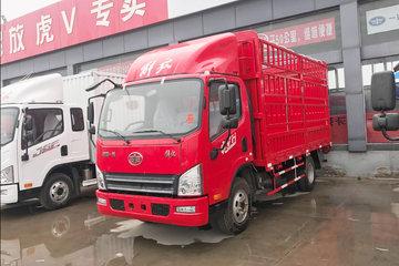 解放 虎VH 120马力 4.21米单排仓栅式载货车(CA5041CCYP40K2L1E5A84-1)