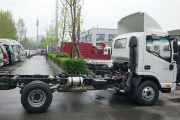 江淮 帅铃H330 141马力 4.18米单排仓栅式轻卡底盘(HFC5043CCYP71K1C2V)图片