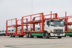 广汽日野 700系列重卡 300马力 中置轴轿运车(TJV5200TCLJM) 卡车图片