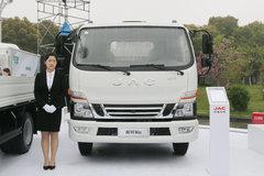江淮 骏铃V6 143马力 4.2米单排栏板轻卡 卡车图片