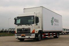 广汽日野 700系列重卡 265马力 4X2 9.72米厢式载货车(中国邮政)(YC5180XXYFH8JW5)