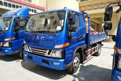 江淮 骏铃V6 143马力 3.85米排半栏板轻卡(HFC1043P91K1C2V) 卡车图片