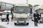 江淮 帅铃K340 120马力 4.13米单排厢式售货车(HFC5041XSHP73K4C3V)图片