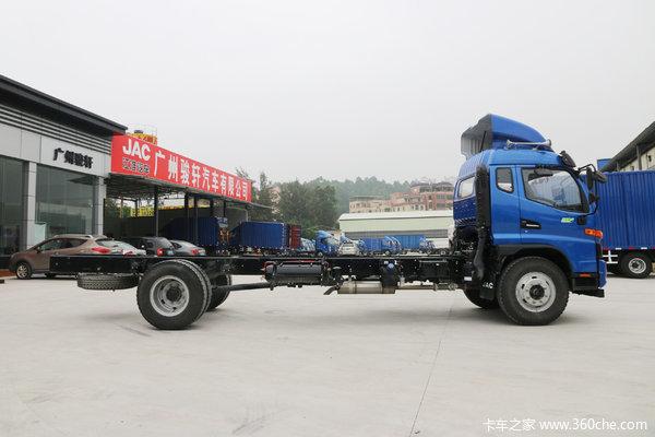 促销5000元,江淮骏铃6.8米厢式运输车
