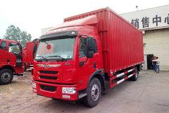 青岛解放 龙V中卡 220马力 6X2 7.7米厢式载货车(CA5250XXYPK2L5T3E5A80-3) 卡车图片