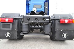 陕汽重卡 德龙X3000 黄金版 轻量化 500马力 6X2后提升牵引车(SX4250XC32) 卡车图片