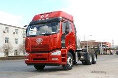 一汽解放 J6P重卡 370马力 6X4 LNG牵引车(CA4250P66T1A1E24M5) 卡车图片