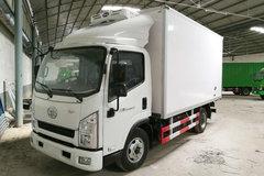 一汽红塔 解放公狮 120马力 4X2 4.2米冷藏车(CA5044XLCPK26L2E5)
