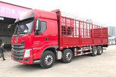 东风柳汽 乘龙H7重卡 350马力 8X4 9.6米仓栅式载货车(LZ5310CCYH7FB)