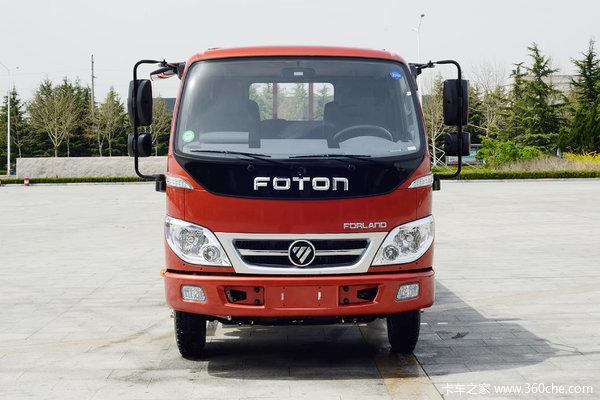 福田时代4.2米本月活动车型