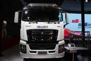 庆铃 五十铃巨咖 350马力 4X2 9.6米厢式载货车(QL5080XXYU1VDR)