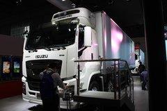 庆铃 五十铃巨咖 380马力 8X4 9.6米冷藏车(QL1310ULVDHY) 卡车图片