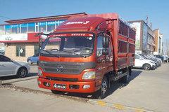 福田 欧马可3系 131马力 3.8米排半仓栅式轻卡(BJ5049CCY-A3) 卡车图片