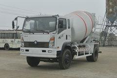 重汽王牌 7系 140马力 4X2 3.35方混凝土搅拌车(CDW5160GJBA3R5)