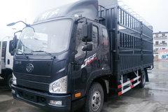 解放 J6F 150马力 5.4米排半仓栅式轻卡(CA5105CCYP40K2L4E5A84) 卡车图片
