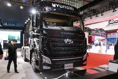 现代商用车(原四川现代) 创虎XCIENT重卡 精英版 440马力 6X2R牵引车(CHM4250KPQ46V) 卡车图片