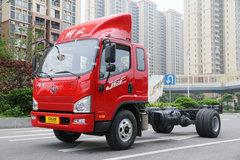 解放 J6F 150马力 5.4米排半厢式轻卡底盘(CA5105XXYP40K2L4E5A84) 卡车图片
