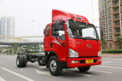 解放 J6F 150马力 5.4米排半厢式轻卡底盘(CA5105XXYP40K2L4E5A84)