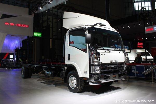 云南庆铃-五十铃700P载货车火热促销中 让利高达0.7万