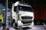 中国重汽 HOWO T7H 重卡 430马力 6X4 LNG牵引车(ZZ4257V384HE1LB)