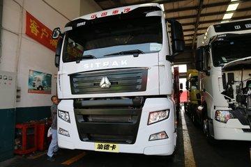 中国重汽 汕德卡SITRAK C7H重卡 440马力 4X2牵引车(ZZ4186V361HE1B)图片