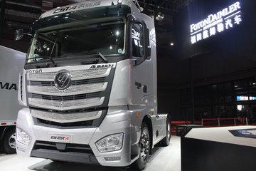 福田 欧曼EST 6系重卡 超级卡车 奔驰版 430马力 4X2 AMT自动挡牵引车