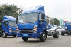 江淮 帅铃H330 高配版 143马力 4.2米单排厢式轻卡底盘(HFC5053XXYP71K1C2V) 卡车图片