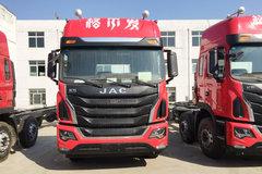 江淮 格尔发K5W重卡 270马力 6X2 9.5米仓栅式载货车(HFC5251CCYP1K4D54S2V) 卡车图片