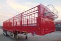 13米 超轻型 鹅颈仓栅式半挂车(自重5.75吨)