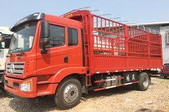 大运 风驰中卡 160马力 4X2 6.75米排半仓栅式载货车(DYQ5160CCYD5AB)