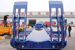 山东骏通 13米低平板半挂车 卡车图片