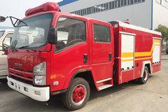 湖北程力 190马力 4X2 庆铃底盘水罐消防车(HXF5101GXFSG30/QL)
