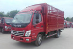 福田 奥铃CTX 156马力 4.23米单排仓栅式载货车