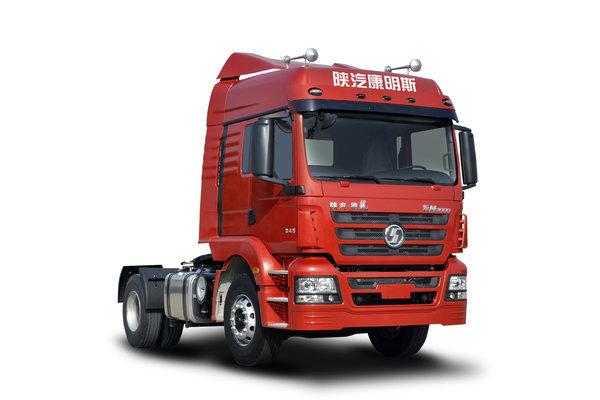 陕汽康明斯 德龙新M3000 轻量化版 345马力 4X2危化品牵引车