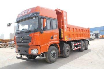 陕汽重卡 德龙X3000 超强版 430马力 8X4 8.6米自卸车(SX33106C456)