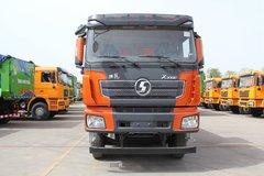 陕汽康明斯 德龙X3000 加强版 385马力 8X4 8米自卸车(SX33106C406)