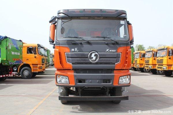 陕汽重卡 德龙X3000 超强版 550马力 8X4 8.6米自卸车(SX33105C486B)