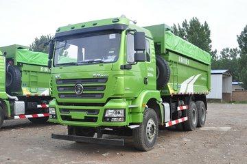 陕汽重卡 德龙新M3000 350马力 6X4 5.6米城建渣土车自卸车