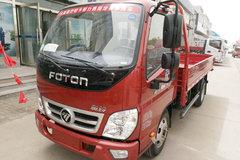 福田 奥铃捷运 99马力 4.2米单排栏板轻卡(BJ1049V9JEA-3) 卡车图片
