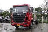 江淮 格尔发K5中卡 180马力 4X2 7.8米排半厢式载货车底盘(HFC5161XXYP3K2A57S2V)