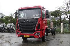 江淮 格尔发K5中卡 180马力 4X2 7.8米排半厢式载货车底盘(HFC5161XXYP3K2A57S2V) 卡车图片