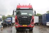 江淮 格尔发K5重卡 240马力 6X2 9.5米厢式载货车底盘(HFC1251P2K3D54S2V)