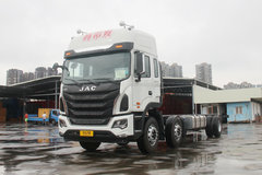 江淮 格尔发K5重卡 280马力 6X2 9.6米厢式载货车底盘(HFC1251P1K4D54S7V) 卡车图片