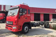 江淮 格尔发A6L中卡 190马力 4X2 6.8米排半栏板载货车底盘(HFC1161P3K2A50S5V) 卡车图片