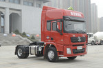 陕汽康明斯 德龙X3000 轻量化 钜惠版 385马力 4X2危化品牵引车(SX4180XC1W)图片