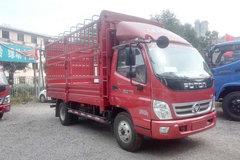 福田 奥铃TX 110马力 4.2米单排仓栅式轻卡(BJ5049CCY-C1) 卡车图片