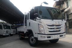四川现代 瑞越 115马力 3.8米排半栏板轻卡(CNJ1040ZDB33M) 卡车图片