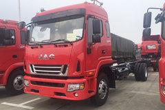 江淮 格尔发A6L中卡 180马力 4X2 6.8米排半仓栅式载货车底盘(HFC5181CCYP3K2A50S2HV) 卡车图片