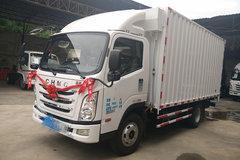 四川现代 瑞越 141马力 4.18米单排厢式轻卡(CNJ5043XXYZDB33M)